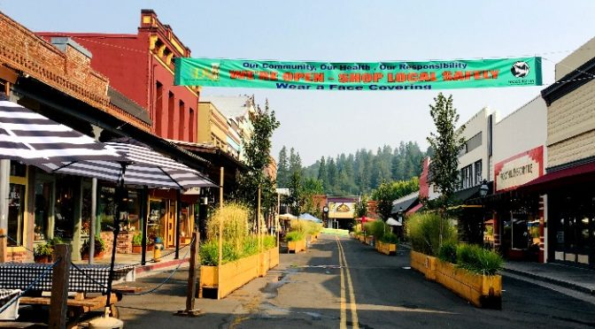Grass Valley Homes for Sale market update photo of downtown